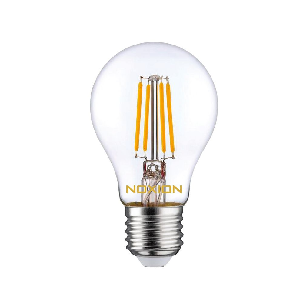 Noxion Lucent Fadenlampe LED Bulb 4.5W 827 A60 E27 Klar | Ersatz für 40W