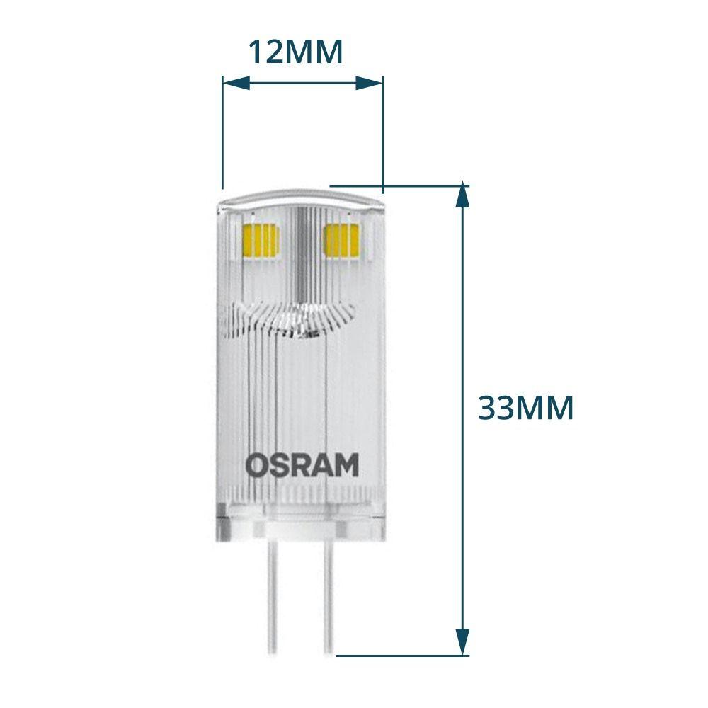Osram Parathom Pin G4 0.9W 827 Klar | Ersatz für 10W