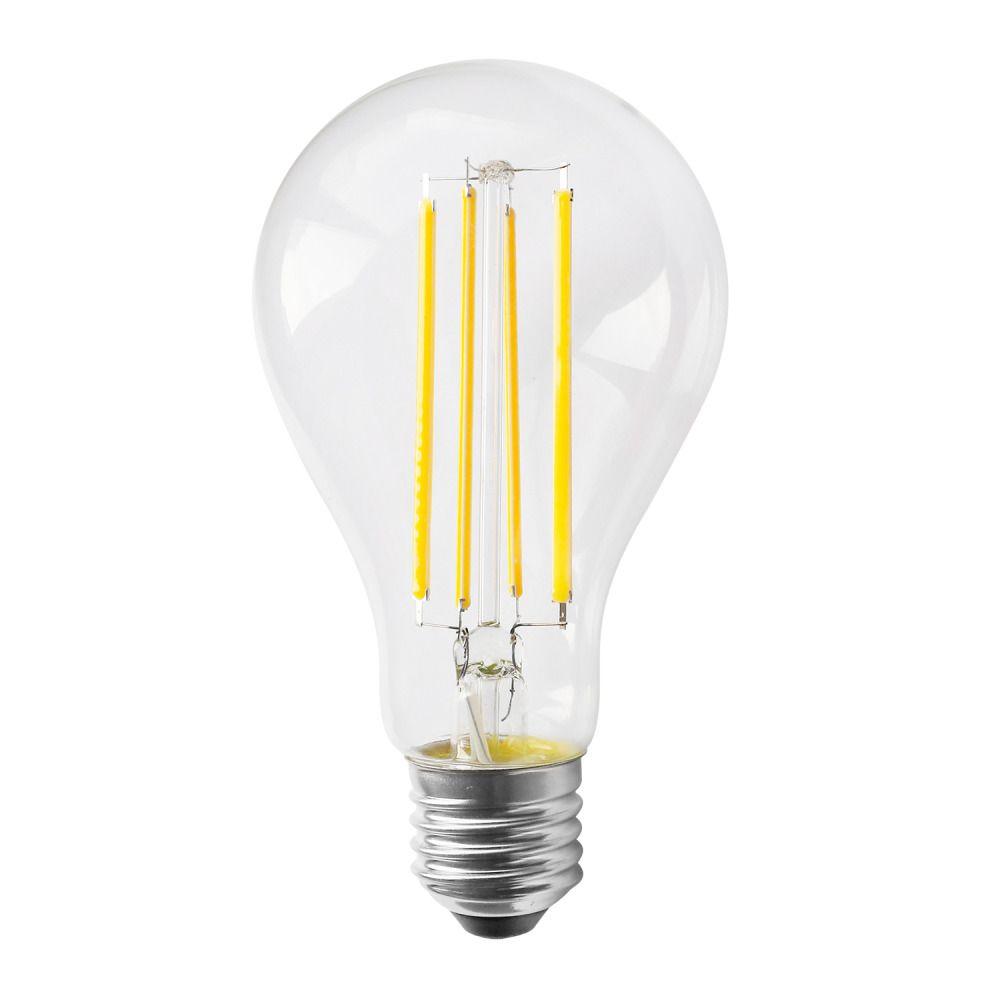 Noxion Lucent Classic LED Fadenlampe A70 E27 13W 827 Klar | Dimmbar - Ersatz für 100W