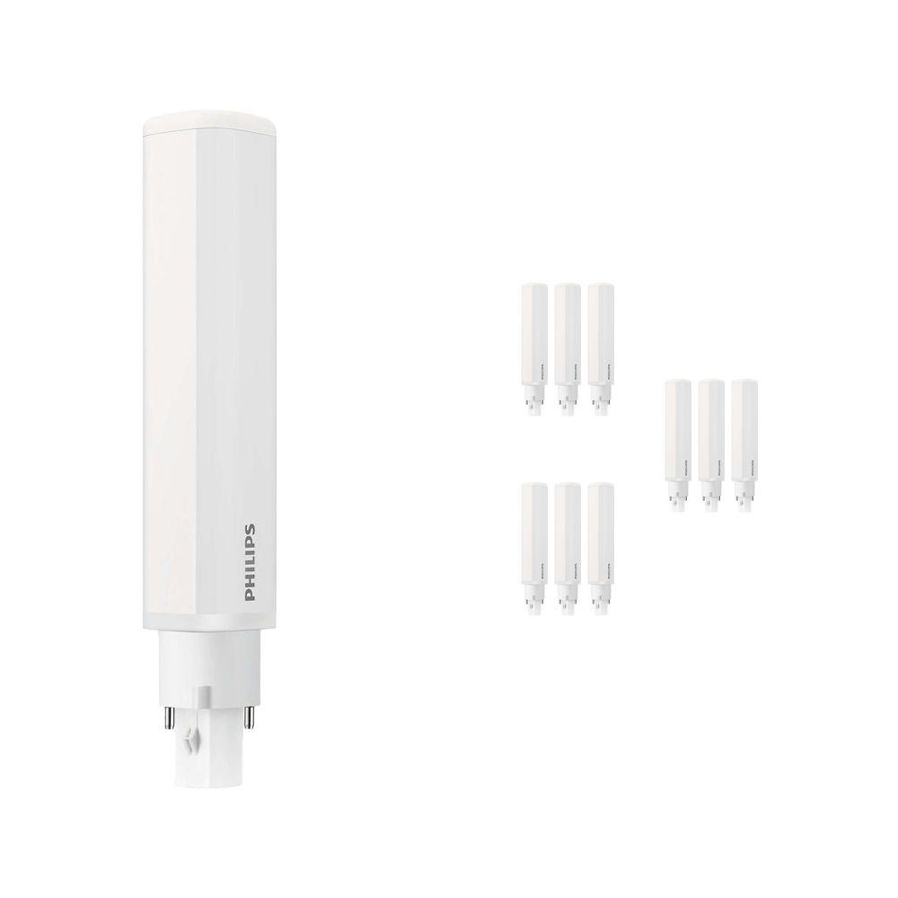 Mehrfachpackung 10x Philips CorePro PL-C LED 8.5W 840   Kaltweiß - 2-Pins - Ersatz für 26W