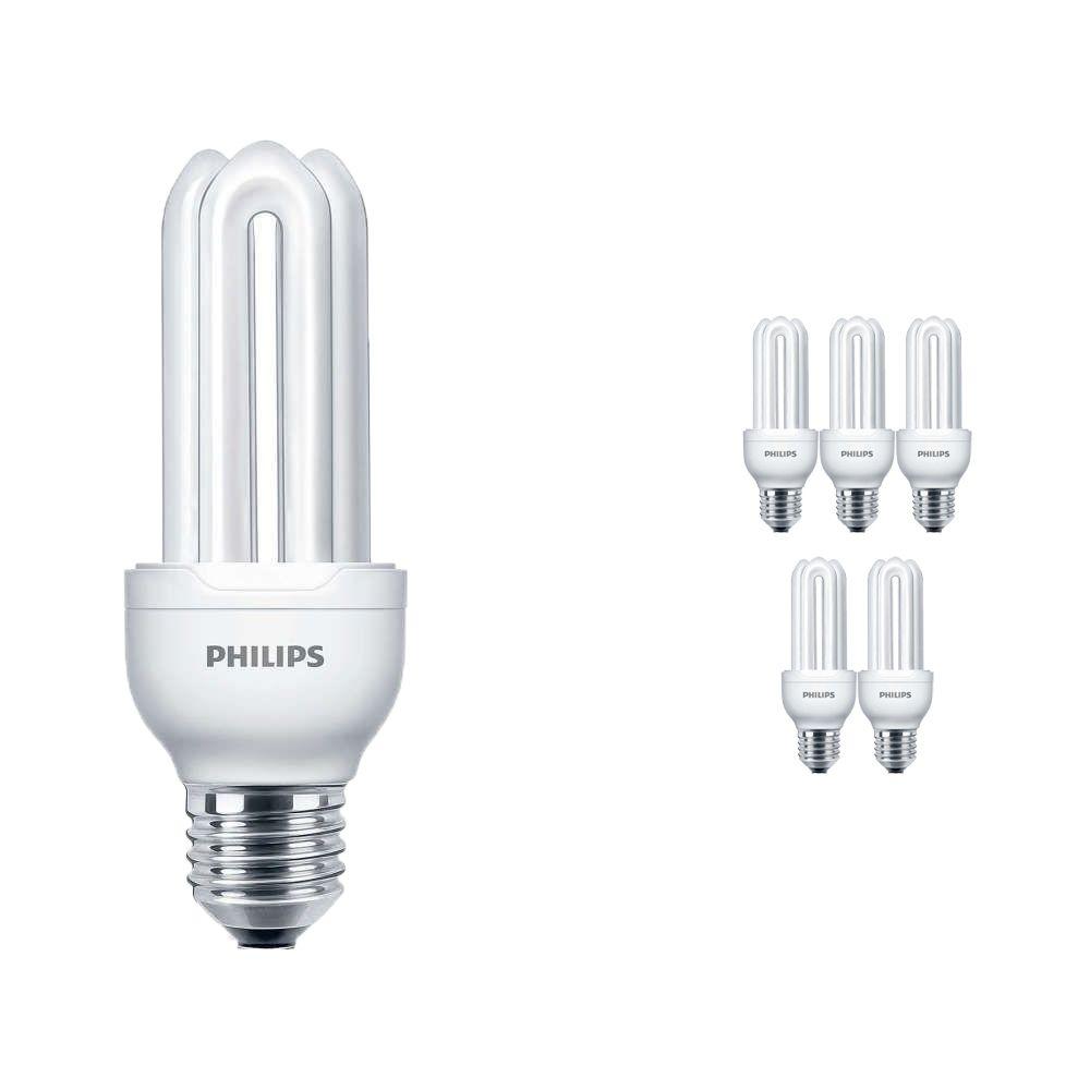 Mehrfachpackung 6x Philips Genie ESaver 11W 827 E27