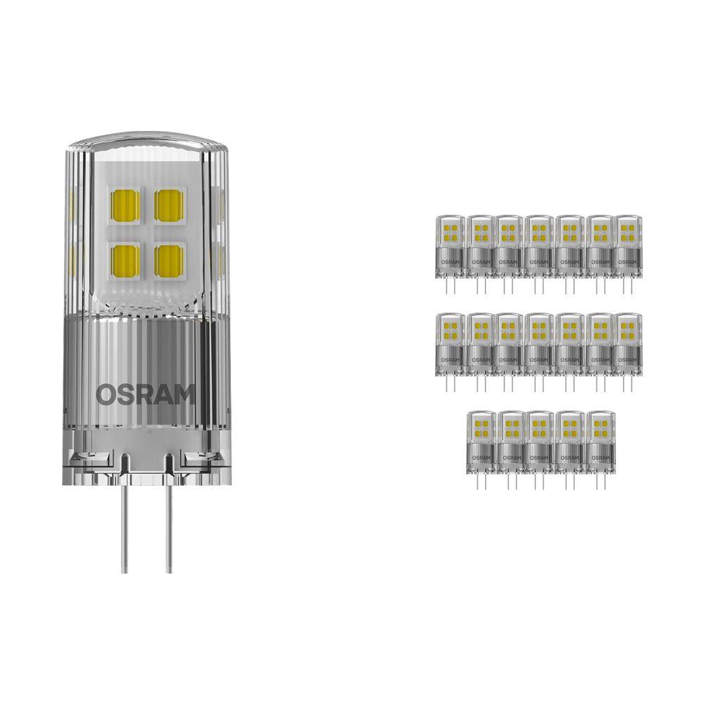 Mehrfachpackung 20x Osram Parathom LED PIN G4 2W 827 | Dimmbar - Ersatz für 20W