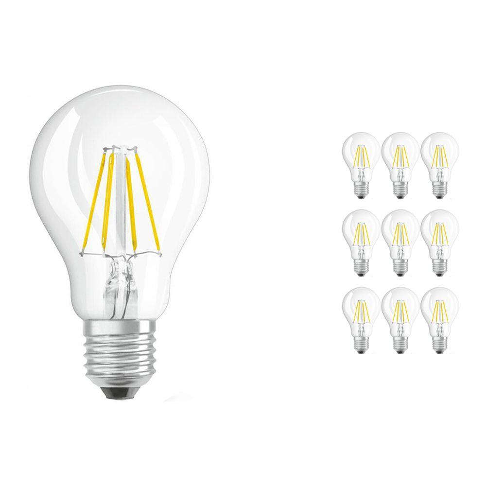 Mehrfachpackung 10x Osram Parathom Retrofit klassisch E27 A 7W 827 Fadenlampe   Ersatz für 60W