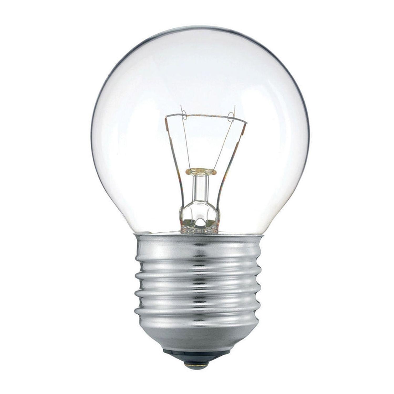 Standard Glühlampe  Round Klar P45 E27 25W 230V