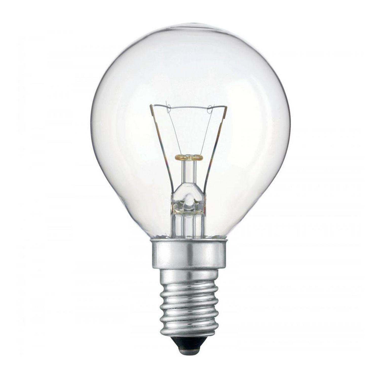 Standard Glühlampe  Round Klar P45 E14 40W 230V
