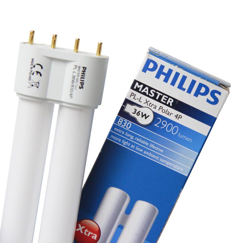 Philips PL-L 24W 840 4P (MASTER) | 1800 Lumen - 4-Pins
