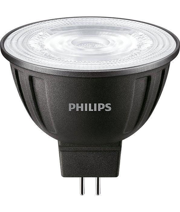 Philips LEDspot LV GU5.3 MR16 8W 827 24D (MASTER) | 621 Lumen - Dimmbar - Ersatz für 50W