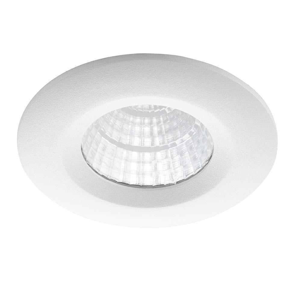 Noxion LED-Spot Forseti IP44 2700K Weiß 6W | Höchste Farbwiedergabe - Dimmbar