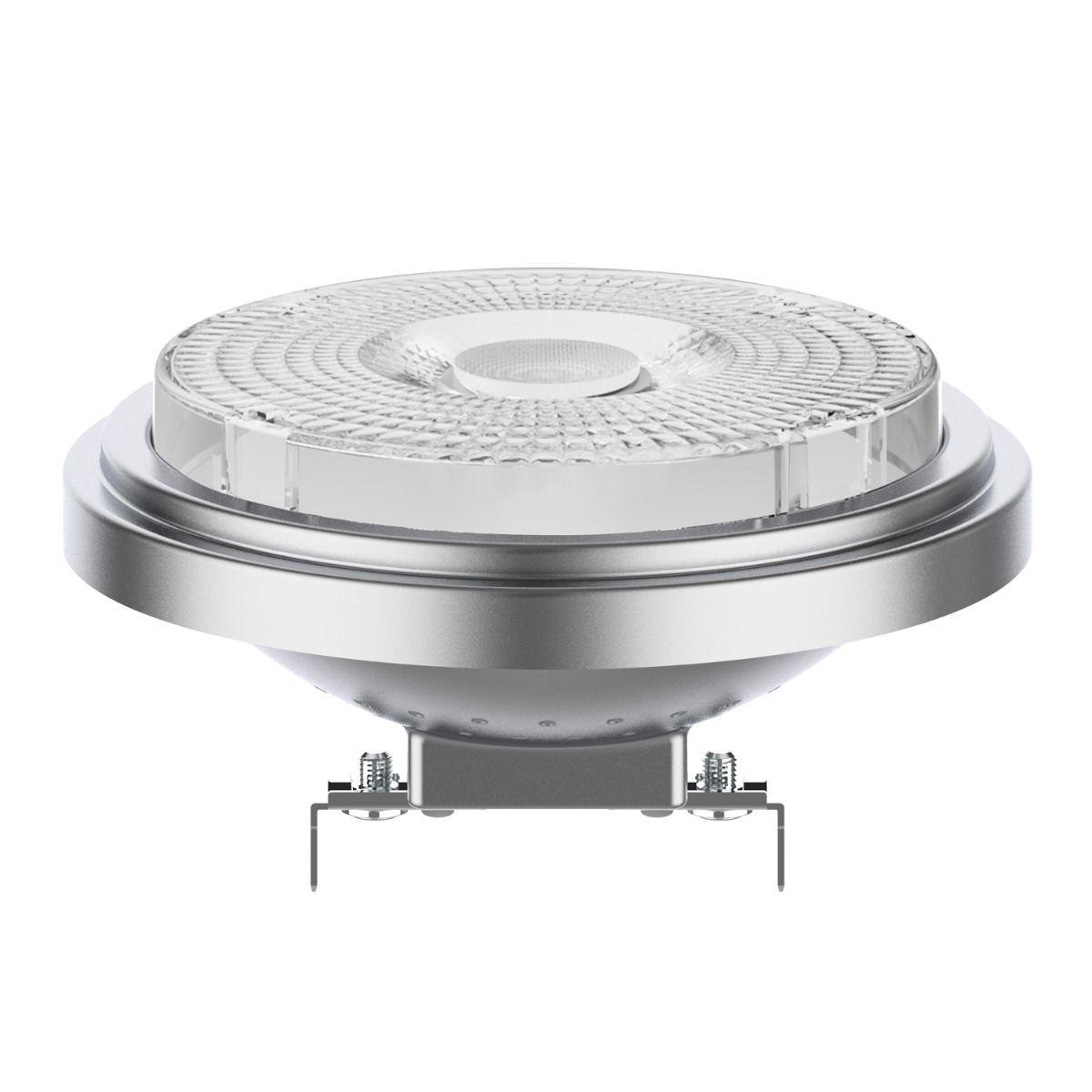 Noxion Lucent LED-Spot AR111 G53 12V 7.3W 927 40D | Dimmbar - Höchste Farbwiedergabe - Ersatz für 50W