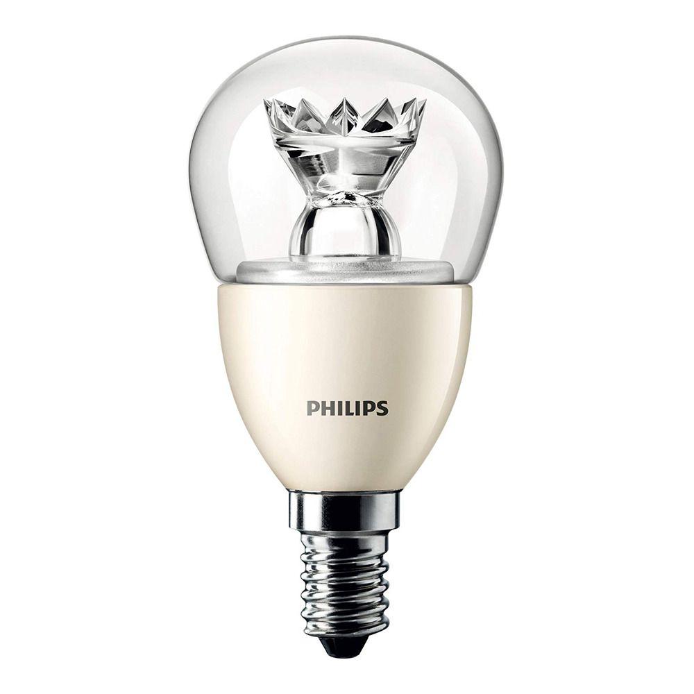 Philips LEDluster E14 P50 8W 827 Klar (MASTER) | DimTone Dimmbar - Ersatz für 60W