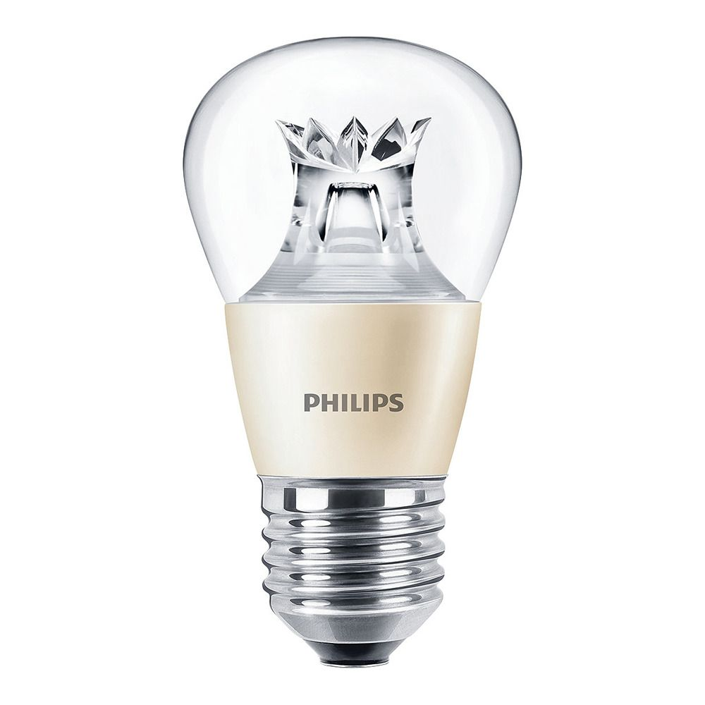 Philips LEDluster E27 P48 6W 827 Klar (MASTER)   DimTone Dimmbar - Ersatz für 40W