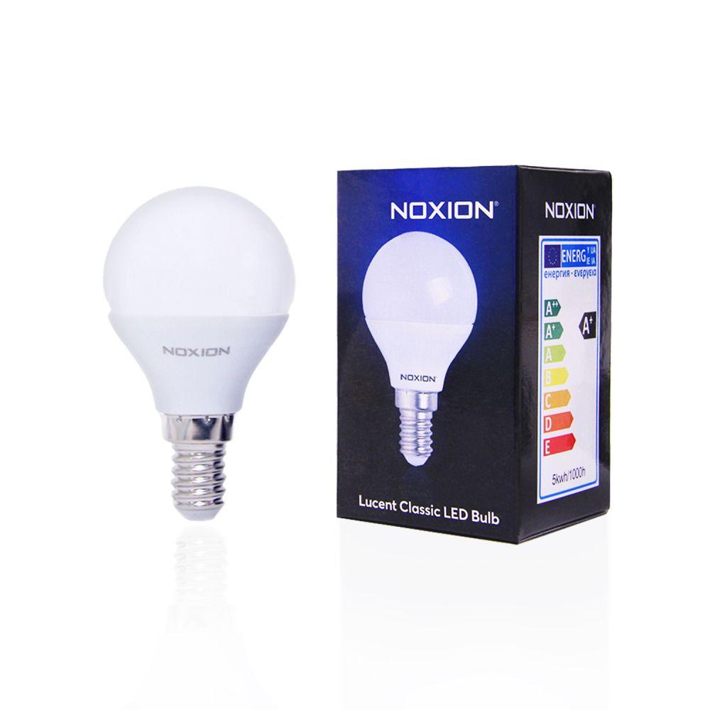 Noxion Lucent LED Classic Lustre 5W 827 P45 E14 | Ersatz für 40W