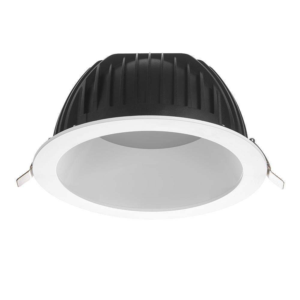 Noxion LED Deckenstrahler Opto IP40 3000K 2200 Lumen Ø200mm