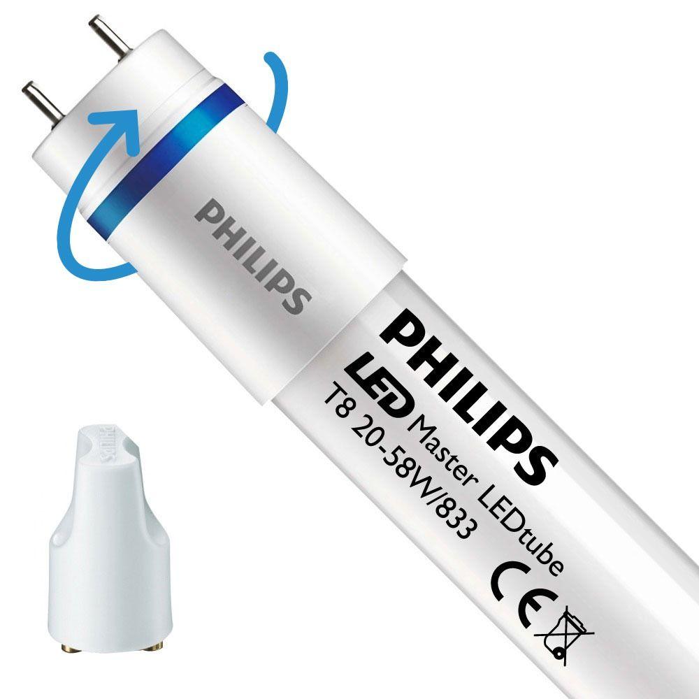 Philips LEDtube EM SO 20W 833 150cm (MASTER)   Food - mit LED-Starter - Ersatz für 58W - Rotierbar