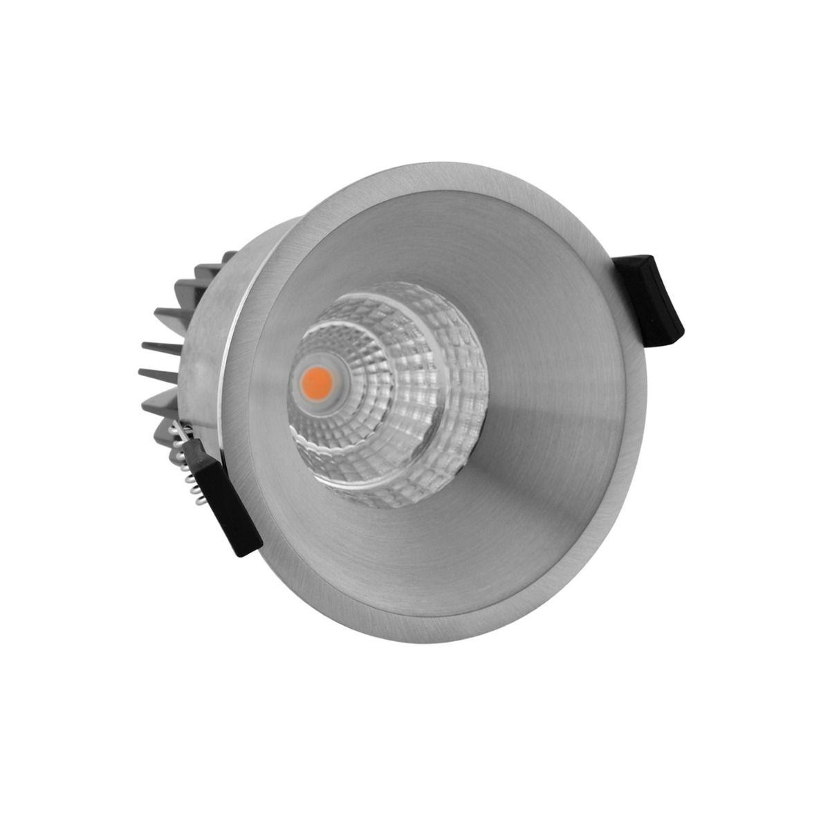 Noxion LED-Spot Starlight IP54 2700K Aluminium 6W | Höchste Farbwiedergabe - Dimmbar